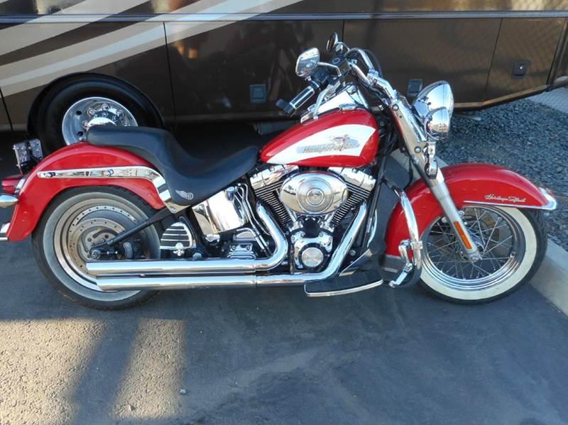 2004 Harley Davidson Softtail Heritage Fat Boy