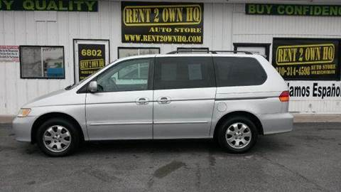 2003 honda odyssey for sale in texas. Black Bedroom Furniture Sets. Home Design Ideas