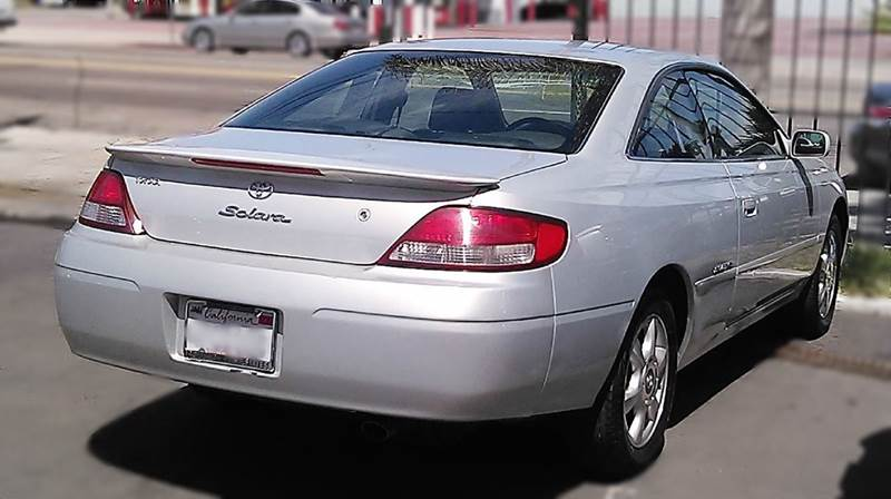 1999 toyota camry solara sle v6 2dr coupe in los angeles for 1999 toyota camry window problems