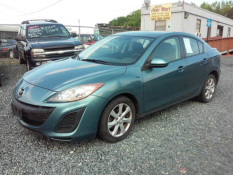 2010 mazda mazda3 i sport 4dr sedan 5a in edgewood md scott 39 s auto mart. Black Bedroom Furniture Sets. Home Design Ideas