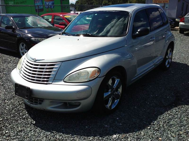 2005 chrysler pt cruiser 4dr gt turbo wagon in dundalk md. Black Bedroom Furniture Sets. Home Design Ideas