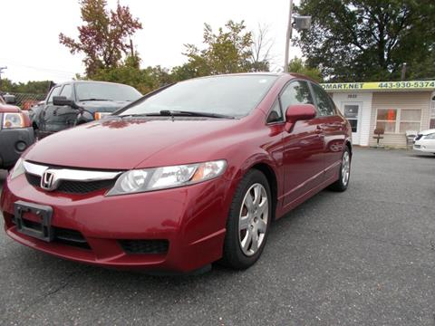 2010 Honda Civic for sale in Dundalk, MD