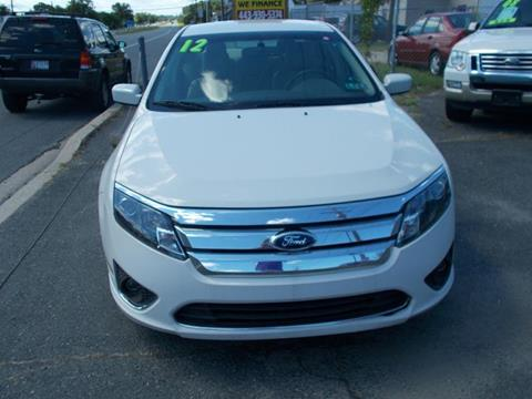 2012 Ford Fusion for sale in Dundalk, MD