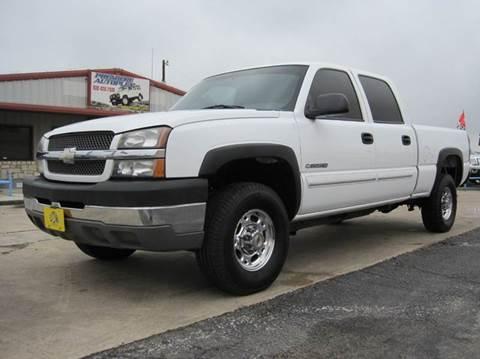 2003 Chevrolet Silverado 2500HD for sale in New Braunfels, TX