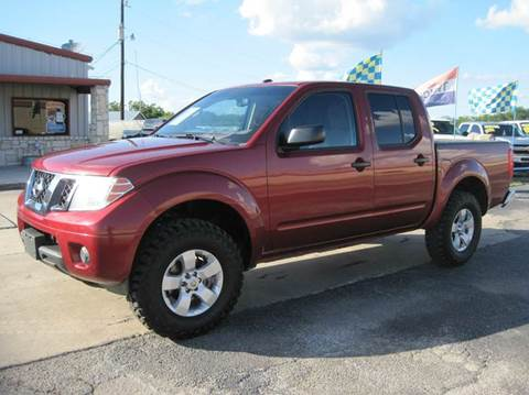 2012 Nissan Frontier for sale in New Braunfels, TX
