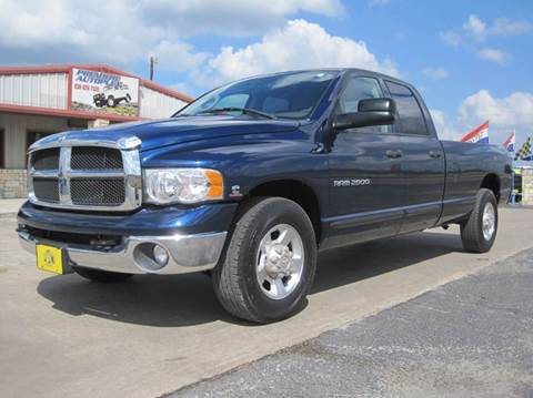 2005 Dodge Ram Pickup 2500 for sale in New Braunfels TX