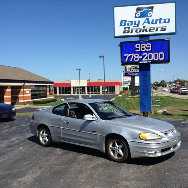 2001 PONTIAC GRAND AM GT 2DR COUPE silver this grand am has it all    awesome gas mileage ex