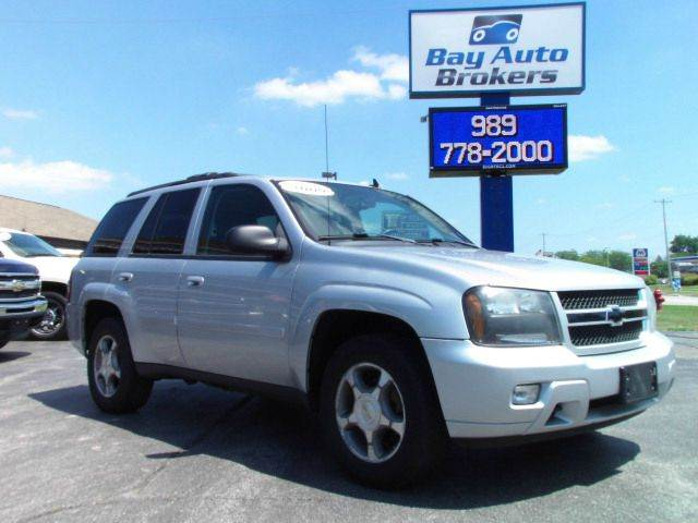 2009 CHEVROLET TRAILBLAZER LT silver the last year of the trailblazer  under 100000 miles 4x4