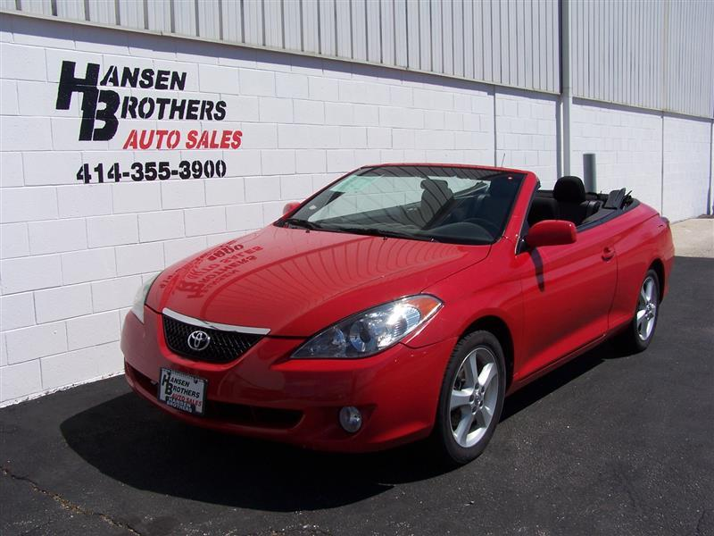 2006 toyota camry solara se v6 2dr convertible in milwaukee wi hansen brothers auto sales. Black Bedroom Furniture Sets. Home Design Ideas