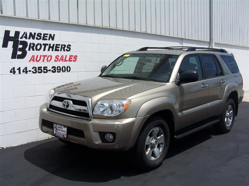2007 toyota 4runner sr5 4dr suv 4wd v6 in milwaukee wi hansen brothers auto sales. Black Bedroom Furniture Sets. Home Design Ideas