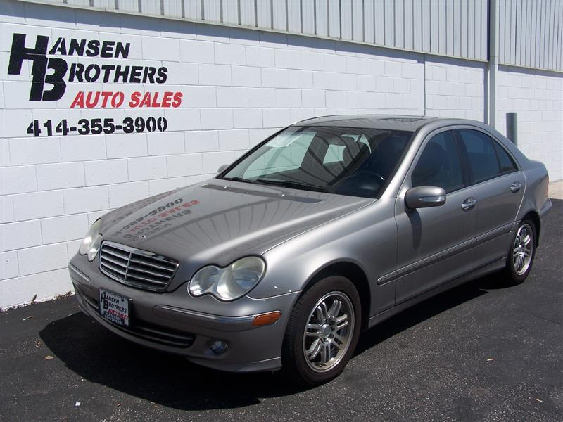 2005 mercedes benz c class c240 4matic awd 4dr sedan in milwaukee wi hansen brothers auto sales. Black Bedroom Furniture Sets. Home Design Ideas