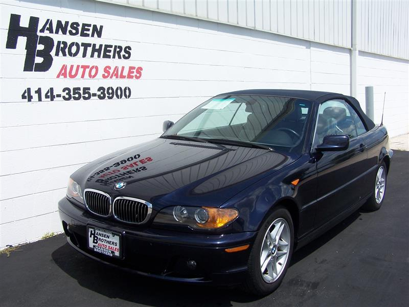 2004 bmw 3 series 325ci 2dr convertible in milwaukee wi. Black Bedroom Furniture Sets. Home Design Ideas