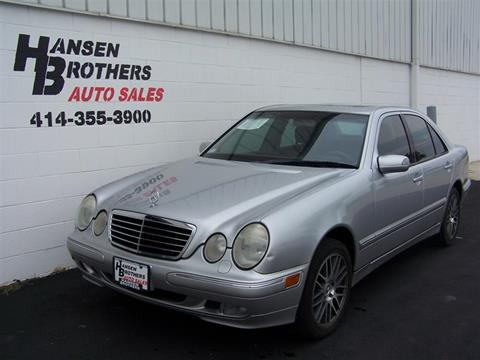 2000 Mercedes-Benz E-Class for sale in Milwaukee, WI