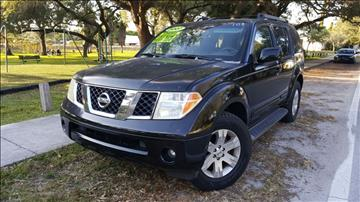 2007 Nissan Pathfinder for sale in Hollywood, FL