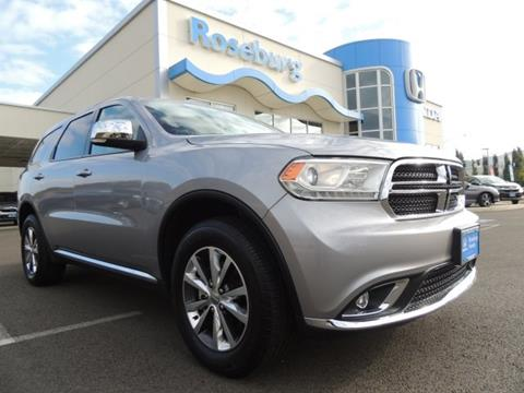 2016 Dodge Durango for sale in Roseburg, OR