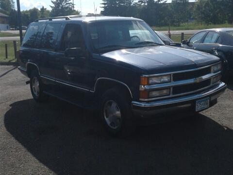 1999 Chevrolet Tahoe For Sale  Carsforsalecom