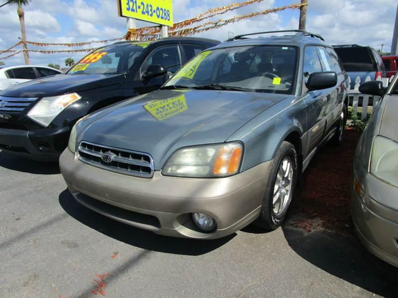 2002 Subaru Outback Awd 4dr Wagon In Cocoa Fl Tropical