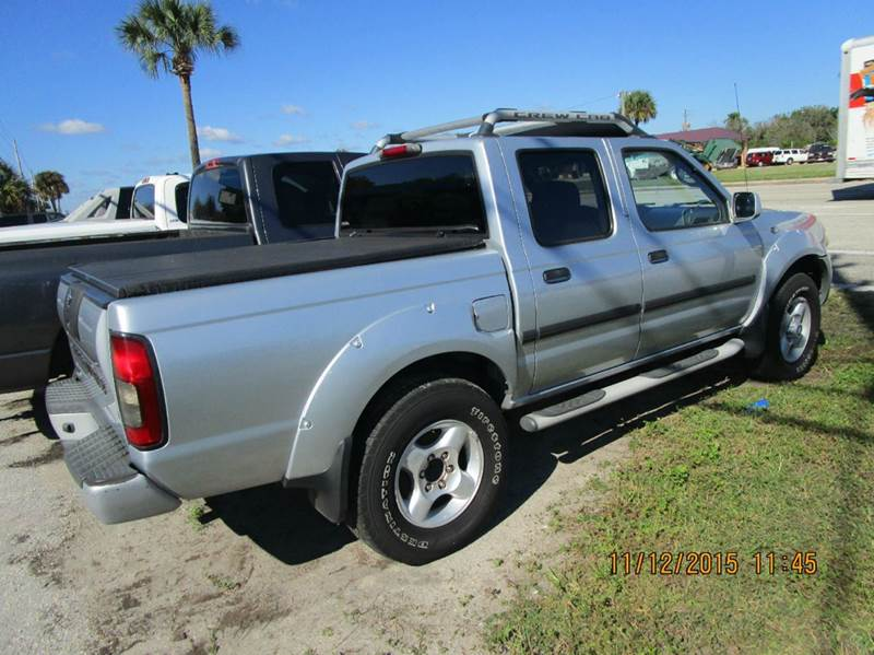2002 Nissan Frontier Xe V6 4dr Crew Cab 2wd Sb In Cocoa Fl
