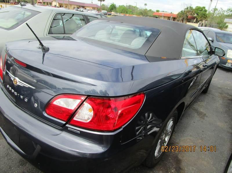 2008 Chrysler Sebring Touring 2dr Convertible In Cocoa Fl