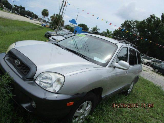 2004 Hyundai Santa Fe Gls 4dr Suv In Cocoa Fl Tropical