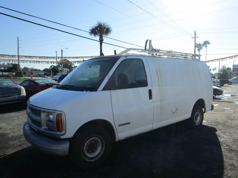 2000 Chevrolet Express Cargo 3dr G2500 Cargo Van In Cocoa