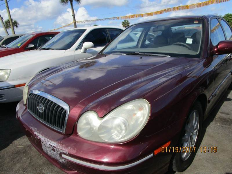 2003 hyundai sonata lx 4dr sedan in cocoa fl tropical