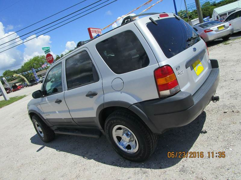 2002 Ford Escape Xlt Choice 4wd 4dr Suv In Cocoa Fl