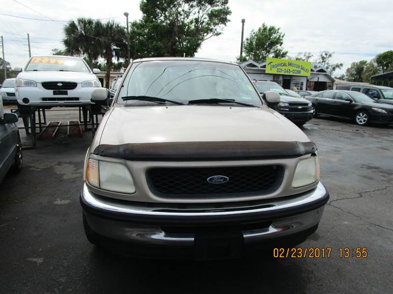 1998 Ford F 150 3dr Xl Extended Cab Sb In Cocoa Fl