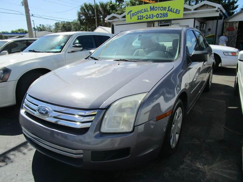 2007 Ford Fusion I 4 Se 4dr Sedan In Cocoa Fl Tropical