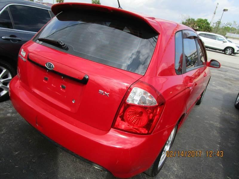 2007 Kia Spectra Spectra5 Sx 4dr Wagon 4a In Cocoa Fl