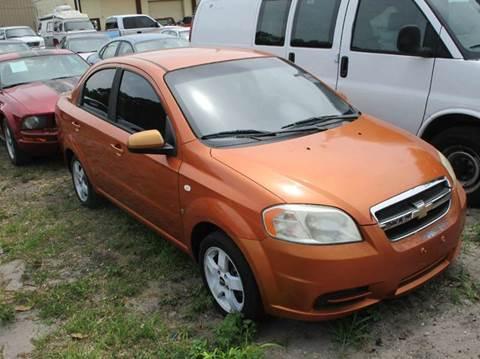 2007 Chevrolet Aveo for sale in Cocoa, FL