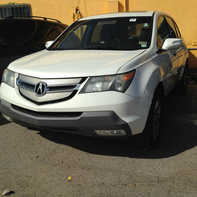2007 Acura Mdx SH-AWD W/Sport Package W/RES 4dr SUV And