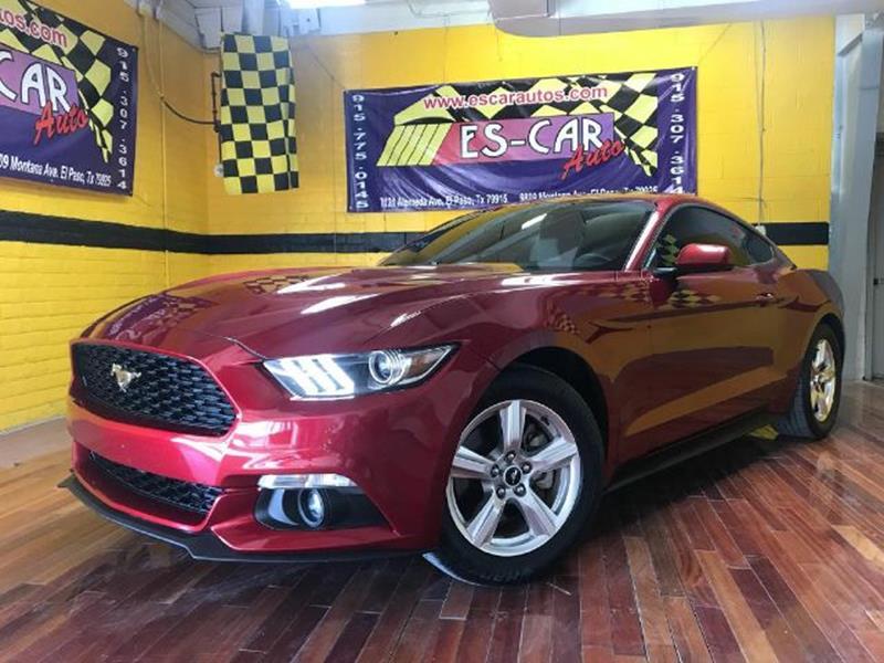 2016 Mustang Gt For Sale In El Paso Texas
