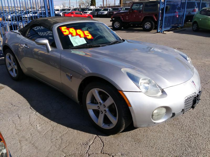 Pontiac Solstice Gxp For Sale In El Paso Tx Cargurus