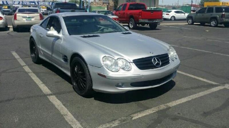 mercedes benz sl class for sale in el paso tx