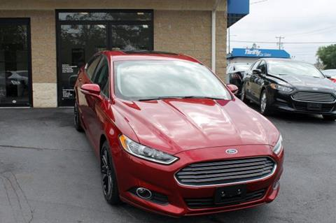 2014 Ford Fusion for sale in Springfield, MA