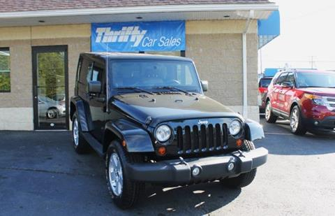 2011 Jeep Wrangler for sale in Springfield, MA