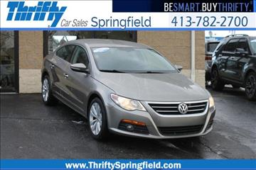 2010 Volkswagen CC for sale in Springfield, MA