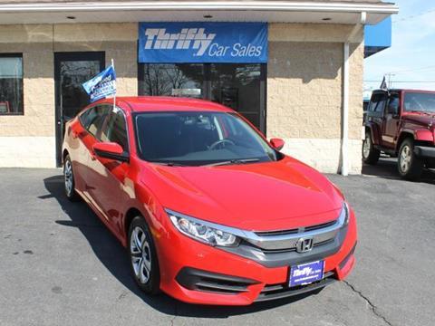 2016 Honda Civic for sale in Springfield, MA
