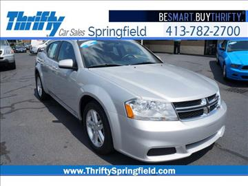 2012 Dodge Avenger for sale in Springfield, MA