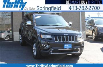 2015 Jeep Grand Cherokee for sale in Springfield, MA
