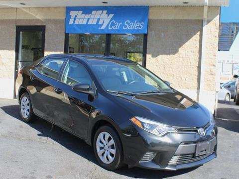 2015 Toyota Corolla for sale in Springfield, MA