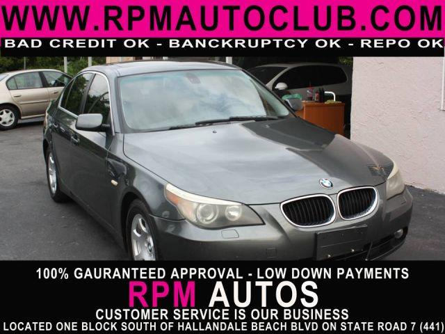2004 BMW 5 SERIES 525I 4DR SEDAN titanium gray metallic 2004 bmw 525i 30l 6 cylinder availab