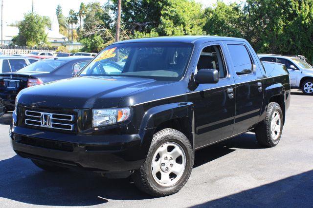 2008 HONDA RIDGELINE RT 4X4 PICKUP CREW CAB formal black 2008 honda ridgeline rtclean carfax a