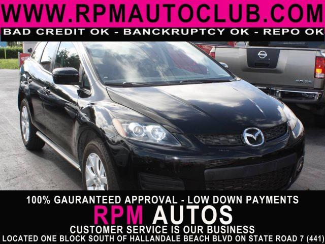 2007 MAZDA CX-7 GRAND TOURING brilliant black 2007 mazda cx-7 grand touringclean carfax exc