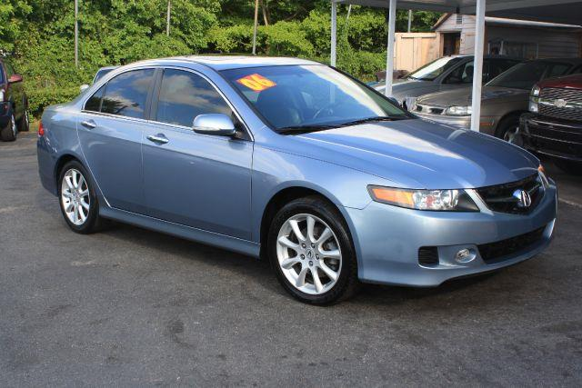 2006 ACURA TSX BASE 4DR SEDAN glacier blue metallic 2006 acura tsx 5-speed atsunroofleather