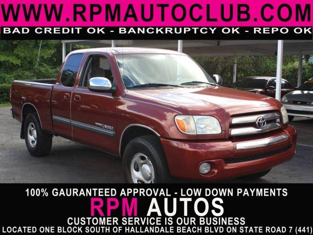 2006 TOYOTA TUNDRA SR5 STEPSIDE ACCESS CAB salsa red pearl 2006 toyota tundra sr5 stepside access