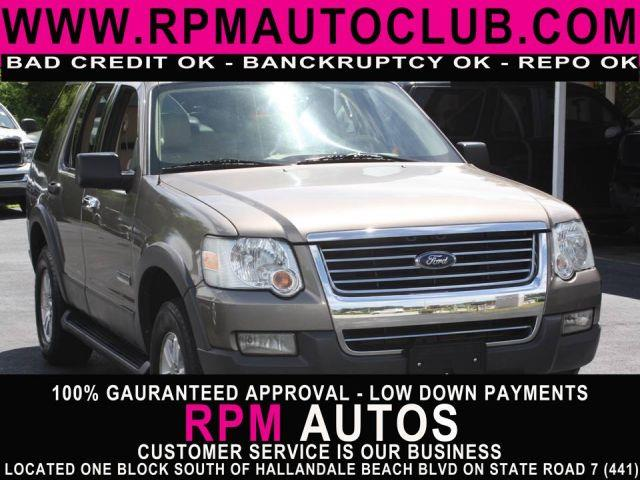 2006 FORD EXPLORER XLT 4DR SUV 4WD mineral gray metallic 2006 ford explorer xlt low miles ful