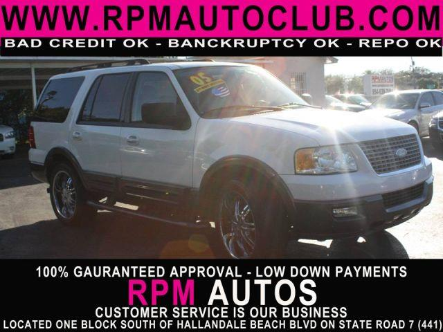 2005 FORD EXPEDITION XLT 4DR SUV oxford white 2005 ford expedition xltcarfax available great