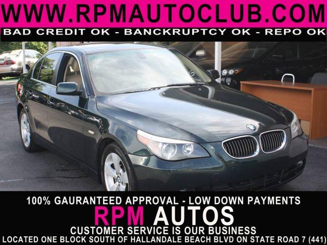 2006 BMW 5 SERIES 530XI AWD 4DR SEDAN olivin green metallic 2006 bmw 5-series 530xi 6 cylinder